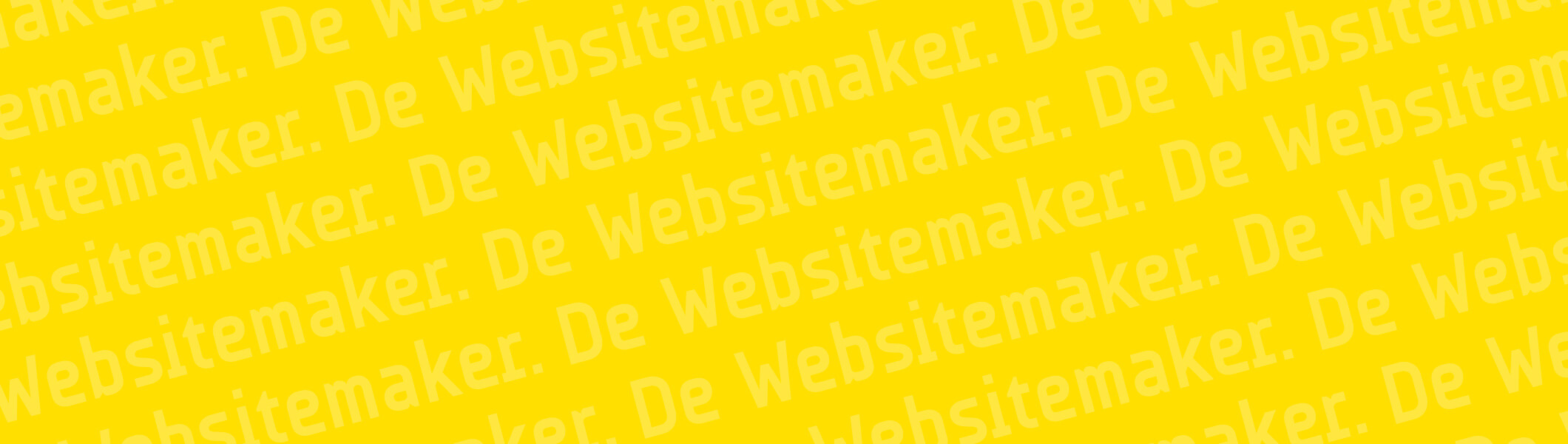 De Websitemaker